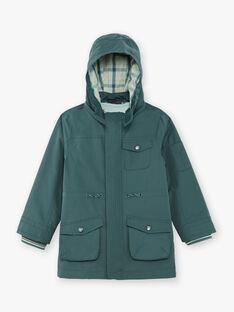 Green RAIN COAT ZAPARKAGE / 21E3PGM2IMPG614