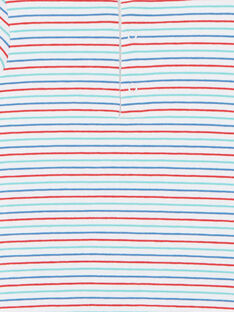 Kurzärmeliges gestreiftes T-Shirt-Bodysuit ZAKAMARO / 21E1BGJ2BOD000