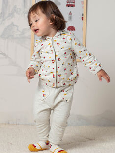 Baby Mädchen Beige Jogginghosen BAEMELINE / 21H1BF51JGBA011