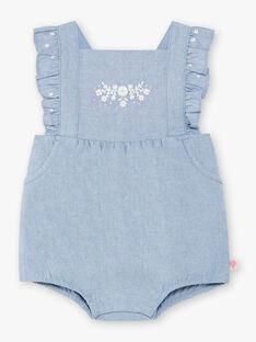 Baby Mädchen bestickt Jeans waten Anzug ZAPRISKA / 21E1BFT1BAR721