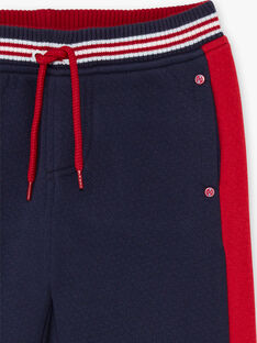Rot-blauer Jogginganzug für Baby-Jungen BADONAGE / 21H3PG13PAN720