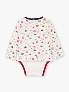 Baby Boy's London Druck lange Ärmel Bodysuit BAFELTON / 21H1BG51BOD001