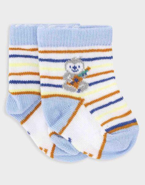 Gestreifte Socken für kleine Jungen TAGRANT / 20E4BGG1SOQ000