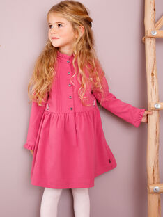 Strawberry rose DRESS VLIJAETTE / 20H2PFS1ROB308