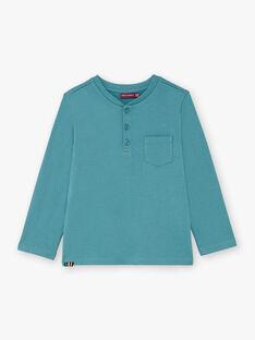 Blaues T-Shirt für Jungen BUXOLAGE2 / 21H3PGB2TML202