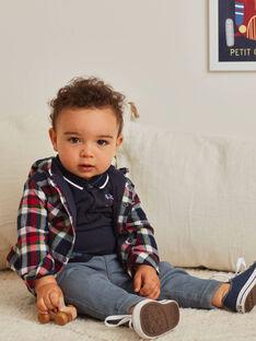 Graue Denim-Jeans für Jungen BAPABLO / 21H1BGM1JEAK004