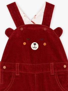 Baby Junge Teddybär Latzhose BALUCIEN / 21H1BGJ1SALI801