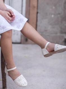 Weiße Schuhe für kleine Mädchen TYLAETTE / 20E4PFJ1CHT000
