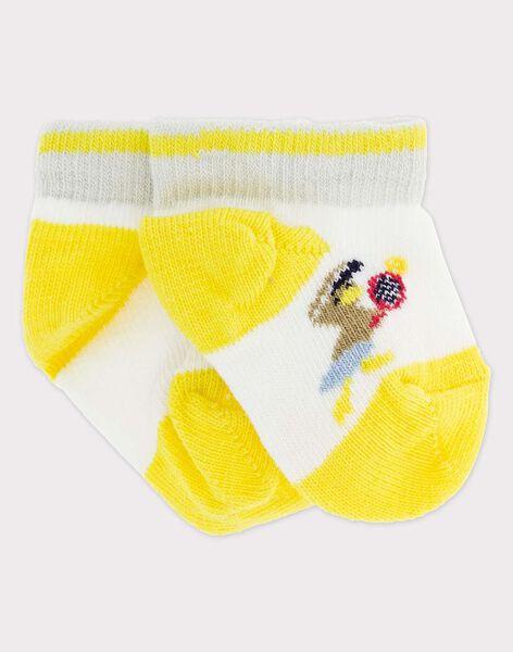 Kurze Socken ecru RYDOMI / 19E4BGS1SOB001