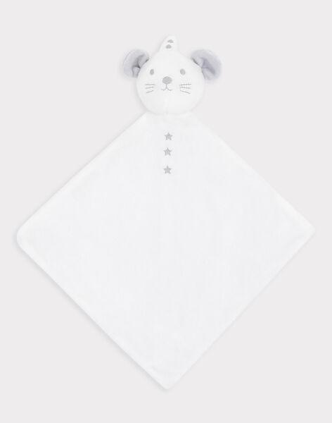 Quadratisches Babykuscheltier aus Kunstpelz Mädchen/Junge SYALIX / 19H0AM11JOU000