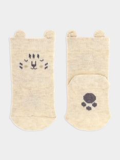 Heather Off white Socks SYALBER / 19H0AG11SOQA010