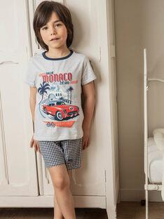 Schlafanzug Jungen Sergent Major, aus unserer originellen Kollektion, die die Phantasie von Kindern im Alter von 0 bis 11 Jahren anregen soll. TEVOYAGE / 20E5PGE4PYJJ920