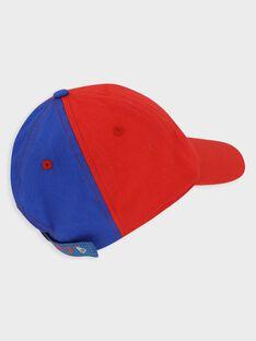 Schirmmütze für kleine Jungen, rot und blau TECHAPAGE / 20E4PGH1CHA216