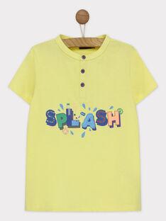 Kurzärmeliges T-Shirt ecru RUALOUAGE / 19E3PGP2TMCA007