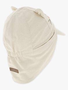 Beige Baby-Mütze für Jungen TAREMI / 20E4BGQ2CHA806