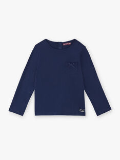 T-shirt langärmelig Kind Mädchen ZLABETTE 1 / 21E2PFK1TMLC214