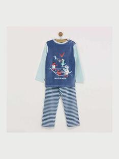 Blauer Schlafanzug REBARAGE / 19E5PG73PYJ703