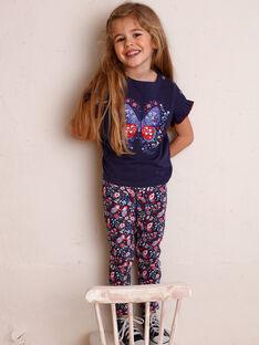 Leggings Kind Mädchen ZOLOGETTE / 21E4PFB1CAL216