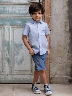 Denim Bermudashorts mit Taschen für Jungen ZIAMAGE / 21E3PGT4BERP265