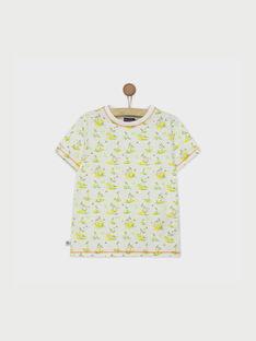 Weißes kurzärmeliges T-Shirt RUMOAGE / 19E3PGQ1TMC000