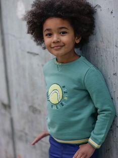 Schweiß grün und gelb Kind Junge ZEMATAGE / 21E3PGO1SWE631