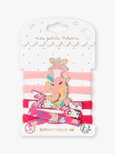 Set aus 4 sortierten Gummibändern für Kinder und Mädchen ZARETTE / 21E4PF86ELAD324