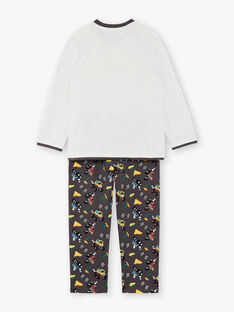 Pyjamas aus grauem Trikot ZEBLOCAGE / 21E5PG12PYJ943