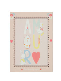 "Rosa Poster ""Liebe"" ROAMOURAFF / 19EZNAX1AFF301"