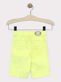Grüne Bermuda-Shorts Jungen TUXOAGE / 20E3PGX2BERG628