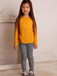 Leggings Kind Mädchen ZECOETTE / 21E4PF91CAL090
