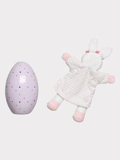 Osterei und Baby-Kuscheltier für Mädchen THEA / 20E4BFU1JOU001