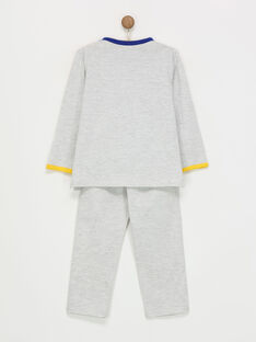 Grau melierter Schlafanzug REBOTAGE / 19E5PG75PYJ943