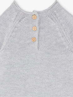 Grauer Pullover aus Heidekraut ZACAJE / 21E1BG91PULJ920