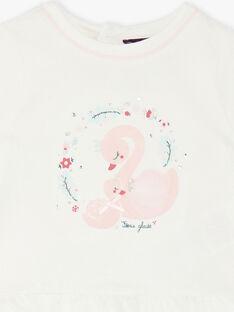 Weiße T-shirt<br>•Schwan<br>•Animation VAOCELIA / 20H1BFW1TML001
