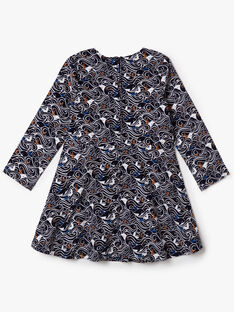 Navy DRESS VOUTIETTE / 20H2PFY1ROB070