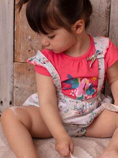 Baby Mädchen rosa T-shirt ZASTACY / 21E1BFU1TMCD311