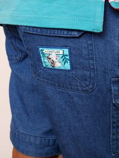 Denim-Bermuda-Shorts mit Taschen ZABILAGE / 21E3PGJ2BER721