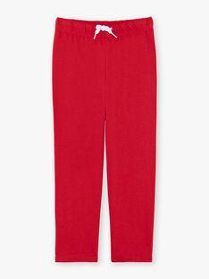 Rot-blaue Pyjamas für Jungen ZECOURAGE / 21E5PG14PYJC218