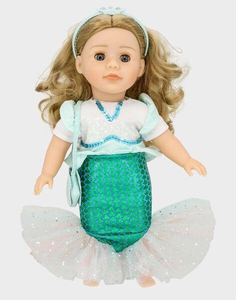 Meerjungfrauen-Outfit für die Puppe Adèle TATENUSIR / 20EZEND1TEN213