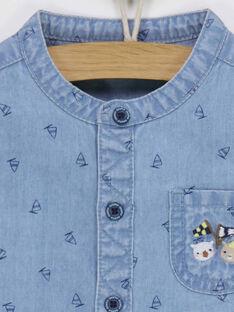 Jeansblaues Hemd RAGUSTAVE / 19E1BGD1CHM704