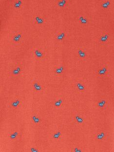Polohemd für Jungen ZAEDOU / 21E1BGB1POL506