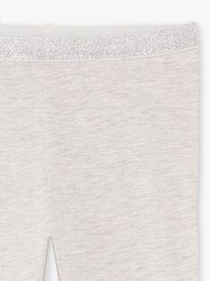 Einfarbig graue Leggings für Mädchen BRONETTE 1 / 21H4PFB4CTT943