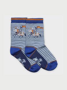 Dunkelblaue Socken RACHOCAGE / 19E4PG41SOQ213