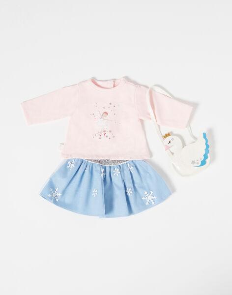 Pale rose DOLL CLOTHES TENUE06 / 20J7GF17HPO301