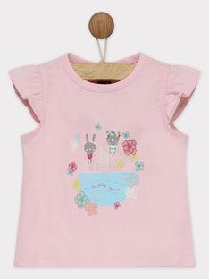 Rosa kurzärmeliges T-Shirt RATALIA / 19E1BFP1TMC321