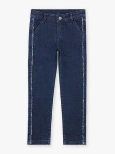Jeans mit Blumendruck für Mädchen BOJANETTE / 21H2PF91JEAP271