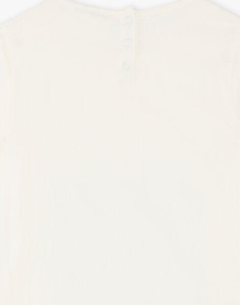 T-Shirt langärmelig Kind Mädchen ZETETTE 2 / 21E2PFB1TML632