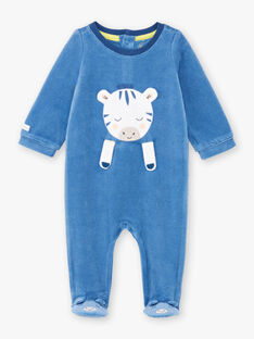 Baby Junge blau Zebra Strampler BEALVIN / 21H5BG64GRE208