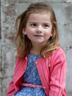Rosa Weste Kind Mädchen ZUCAYETTE / 21E2PFT1CARD313