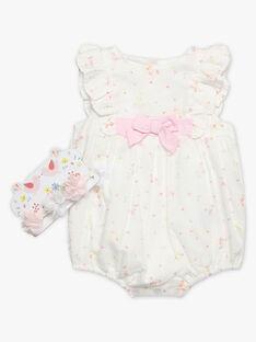Baby-Spielanzug mit Blumenprint für Mädchen TALILY / 20E1BFJ1BAR000